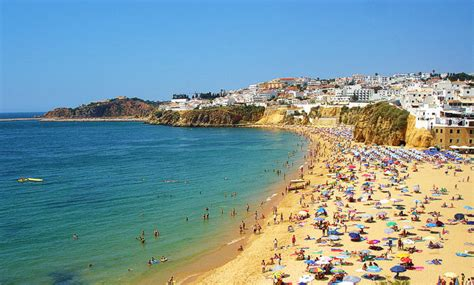 Beaches Of Central Algarve Lagoa Silves Albufeira