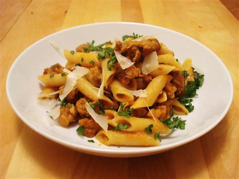 recette pate avec saucisse italienne presque v 233 g 233 p 226 tes 224 la citrouille et 224 la saucisse italienne