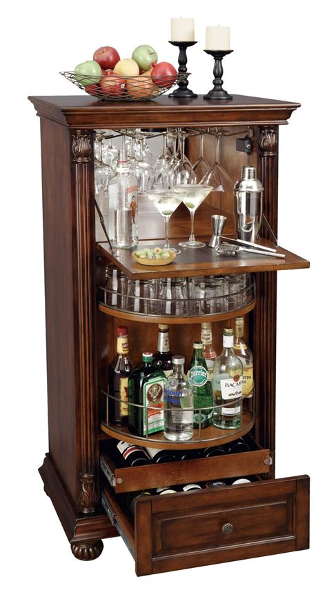 Wine Bar Furniture by Cognac Wine Bar Cabinet From Howard Miller 695078