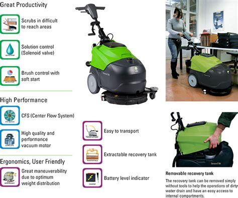 Automatic Floor Scrubber 18 Jl E by Ct30b45 18 Inch Automatic Floor Scrubber Walk