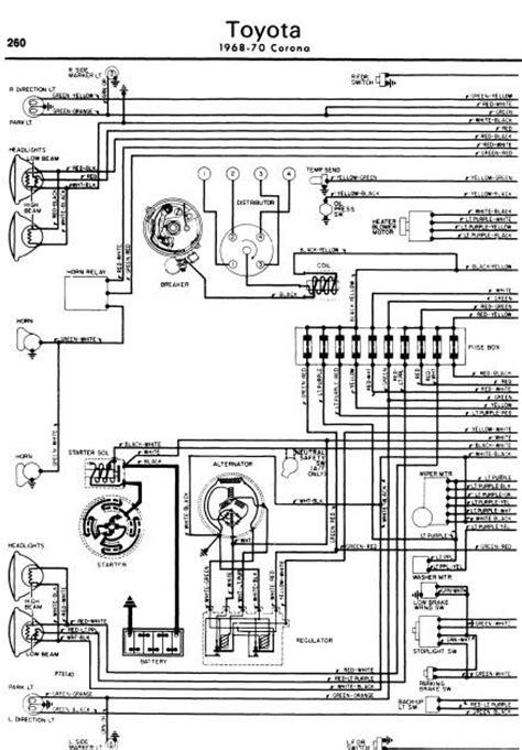 repair manuals toyota corona   wiring diagrams