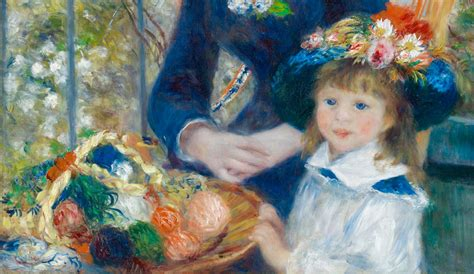 renoir two on the terrace two by auguste renoir galleryintell
