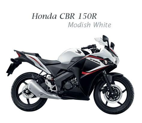 honda cbr 150r black and white honda cbr150r new paint scheme for thai people