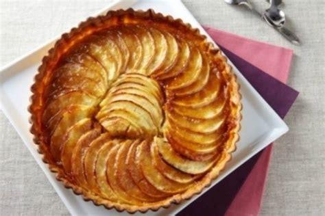 atelier cuisine lille recette de tarte aux pommes et crème d 39 amande au caramel facile et rapide