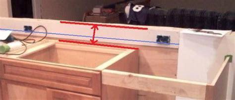 Kitchen countertop receptacle height   DoItYourself.com
