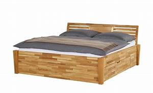 Höffner Betten 140x200 : massivholz bettgestell 140x200 wildeiche timber 140 cm wildeiche ~ Markanthonyermac.com Haus und Dekorationen