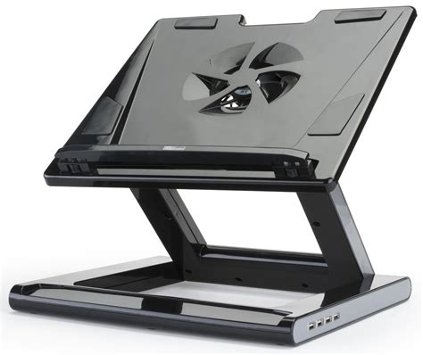 computer stand for desk ergonomic laptop stand folds flat for convenient storage