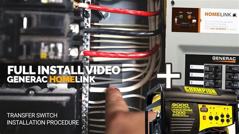 How Installed The Generac Generator Transfer Switch