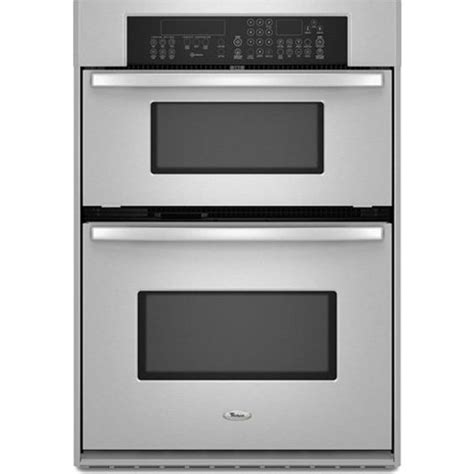 whirlpool gscpvs  built  microwave combination double wall oven   cu ft oven