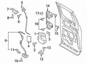 2015 Ford F-150 Bolt  Striker  Screw  Door   Upper  Lower   Cab  Super  Left
