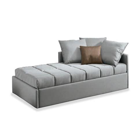 canape cuir beige lit gigogne atena meubles et atmosphère