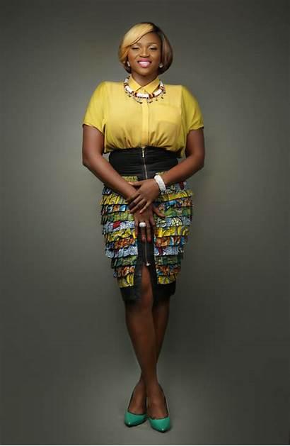 Waje African Woman Nigerian Launching Campaign Young