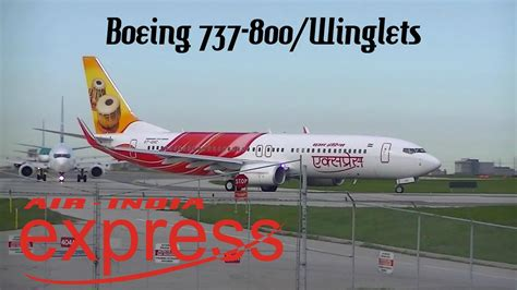 Air India Express Boeing 737-800/winglets Take-off