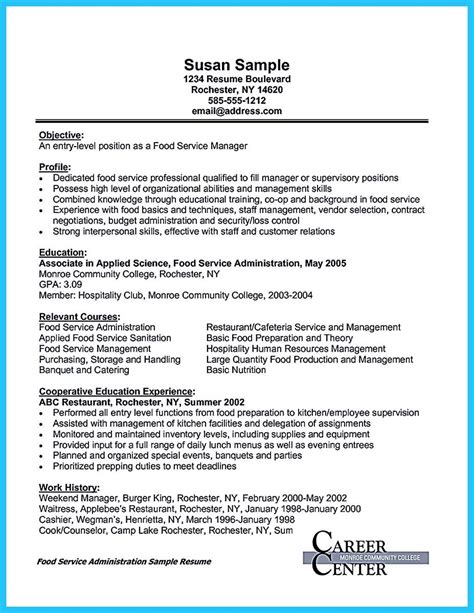 Server Resume Skills by Cool Expert Banquet Server Resume Guides You Definitely