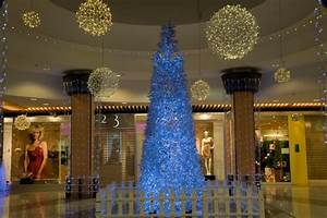 sapin de noel geant quotmanhattanquot blanc froid decorations With decoration de noel exterieur pour professionnel