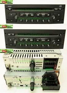 Citroen C2 Electrical System Radio Orginele Radio Cd  Display  Vdo Clarion Pu2471a