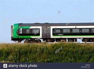 London Midland train, side view Stock Photo, Royalty Free ...