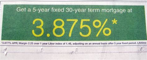 mortgage rate  apr      truth