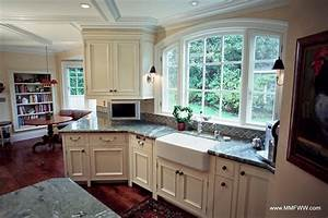 custom kitchen cabinets with a mix of painted and stained With kitchen customization painted kitchen cabinets