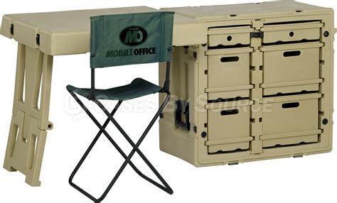 Office Desk Nsn by Hardigg Field Desk With Chair 472 Fld Desk Ta Cases By
