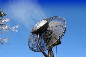 Ventilateur Brumisateur Sur Pied : ventilateur brumisateur o 39 fresh le site officiel ~ Melissatoandfro.com Idées de Décoration