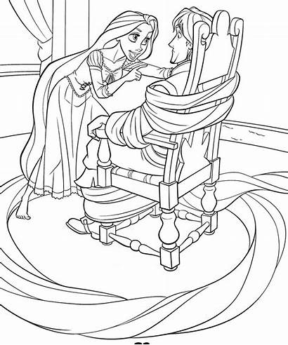 Tangled Coloring Pages Odd Dr