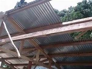 Tole Pour Toiture : pose toiture tole youtube ~ Premium-room.com Idées de Décoration