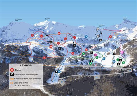 les monts d olmes plan des pistes de ski les monts d olmes