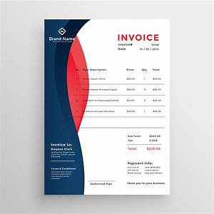 Simple Order Form Template Modern Professional Invoice Template Design Download