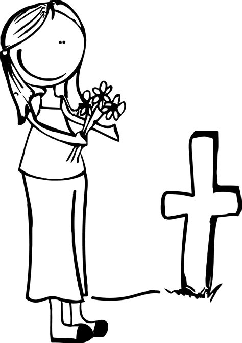 All Souls Day Coloring Pages Page For Kids