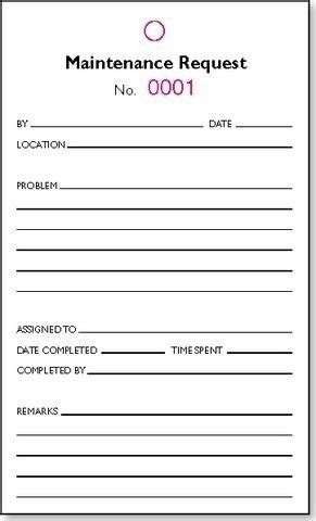 apartment maintenance forms apartment maintenance request form template latest