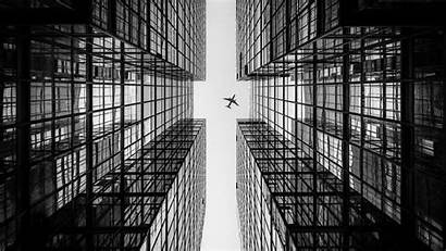 Architecture Modern Building Hong Kong Buildings Airplane