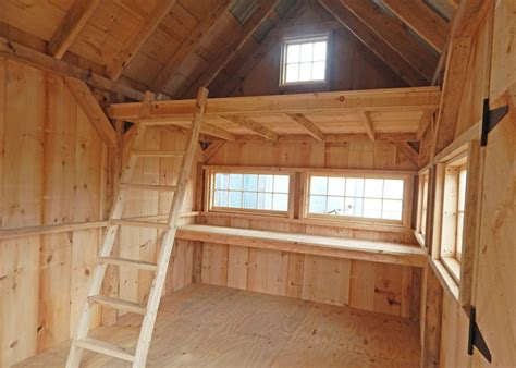 Interior Barn Designs by 10x16 Shed Board And Batten Shed Plans