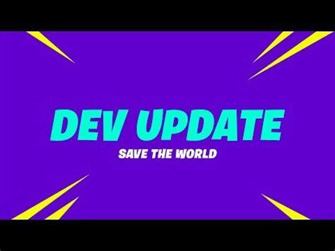 fortnite developer update  stamina  front