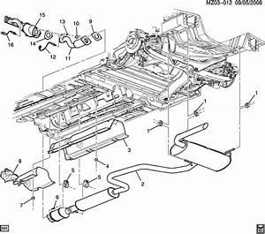 Pontiac G6 Muffler  Exhaust  Muffler  Exh  W  Exh  U0026 Tail