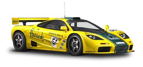 Sport Cars Png by Mclaren P1 Gtr Yellow Sports Car Png Image Pngpix