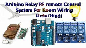 Arduino Relay Control With 433 Mhz Rf Remote And Receiver