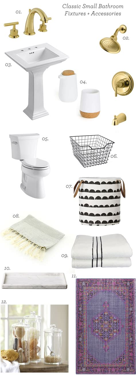 Classic Bathroom Fixtures by Classic Small Bathroom Inspiration