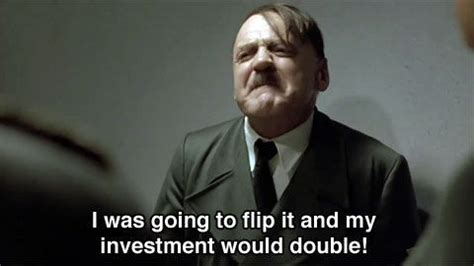 Hitler Movie Meme - november 3rd 2008 hitler deals with the heavy news of