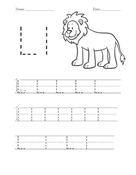 the letter l worksheets for preschool free printable letter l worksheets for kindergarten