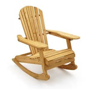 trueshopping bowland garden rocking chair in natural