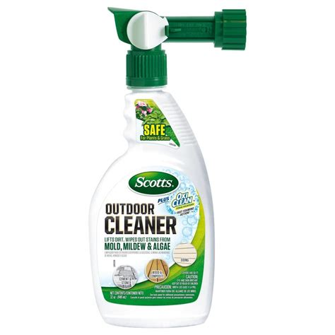 scotts 32 oz rts plus oxiclean outdoor cleaners 51060c1