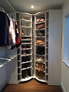 Rotating Closet Carousel by The Revolving Closet Organizer Contemporary Shoe