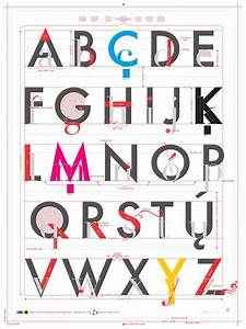 pop chart lab design data delight alphabet of With letter typography art