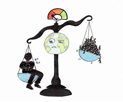 Reduce Consumption Population Reduced Illustration Compels Hardly