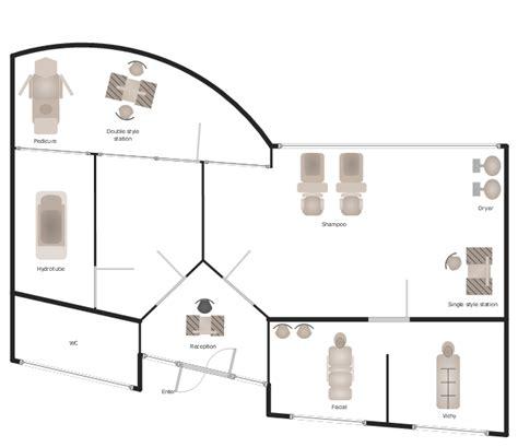 gym  spa area plans spa floor plan   draw