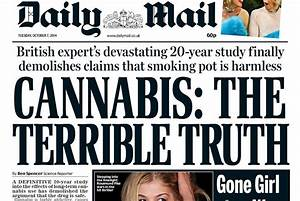 Fear Mongering Headlines Try to Demonize Cannabis