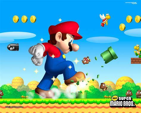 New Super Mario Brothers Wallpaper Super Mario Bros