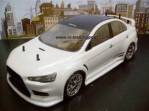 MITSUBISHI LANCER EVOLUTION X Custom Painted RC Touring ...