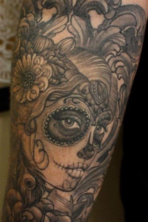 Sugar Skull Tattoo Inked Pinterest Boyfriend